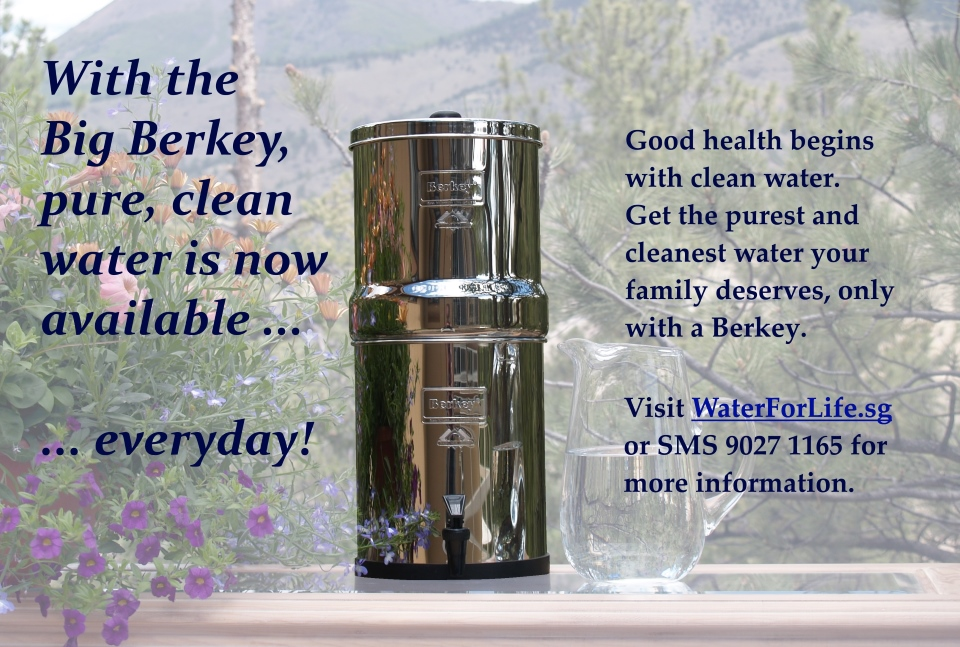 Good Health begins with Clean Water